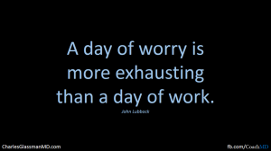 a day of worry