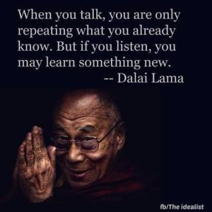 Talking vs Listening