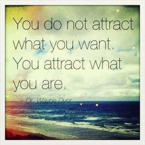 BLOG - Attract what you are