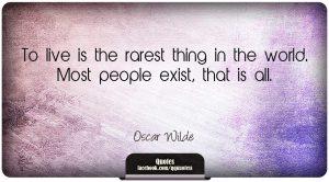 BLOG - Oscar Wilde 1