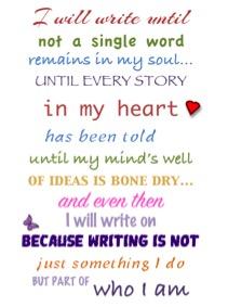 BLOG - I will write 2